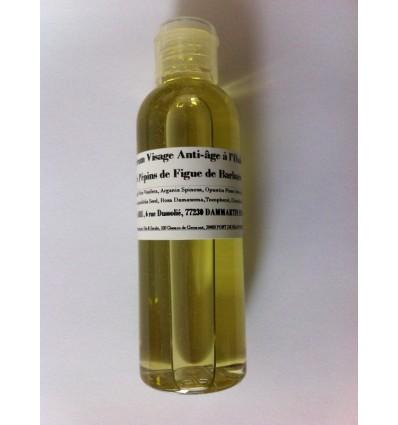 """Sérum visage """"Anti-âge"""" à l'huile de pépins de figue de Barbarie Flacon de 100 ml"""