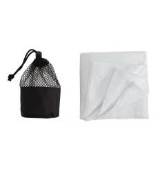 """Serviette micro fibre """"Cleaner"""" dans son étui filet assorti offerte pour toute commande à partir de 350 EUR HT"""