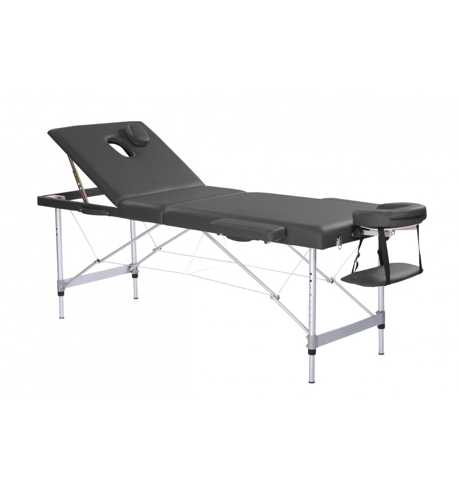Table de massage portable en aluminium pvc eron - Table de massage portable ...
