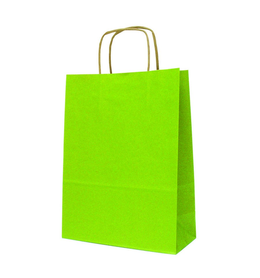sac papier kraft de couleur format 24x11x30 cm. Black Bedroom Furniture Sets. Home Design Ideas