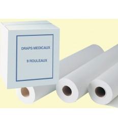 Drap d'examen Pure Cellulose Gaufré micro blanc