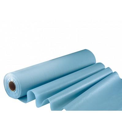 Drap d'examen plastifié bleu