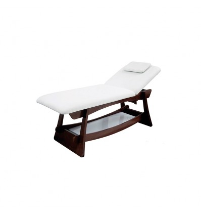 "Table de massage en bois 2 plans ""Delto"""