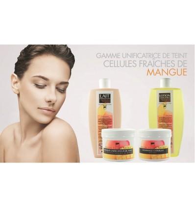 Gamme complète Unificatrice de teint aux cellules fraîches de Mangue (cabine)