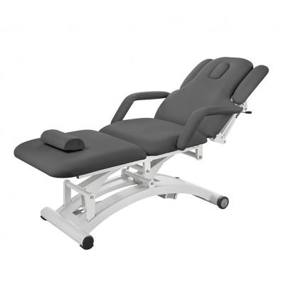 """Table de Massage Électrique (PU Gris, 3 Moteurs) """"Sphen"""""""