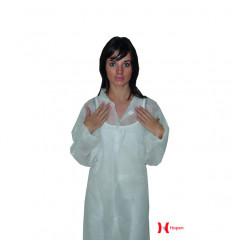 Blouse hygiène PP avec col blanche