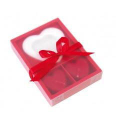 "Set de bougies ""2 HEARTS"""